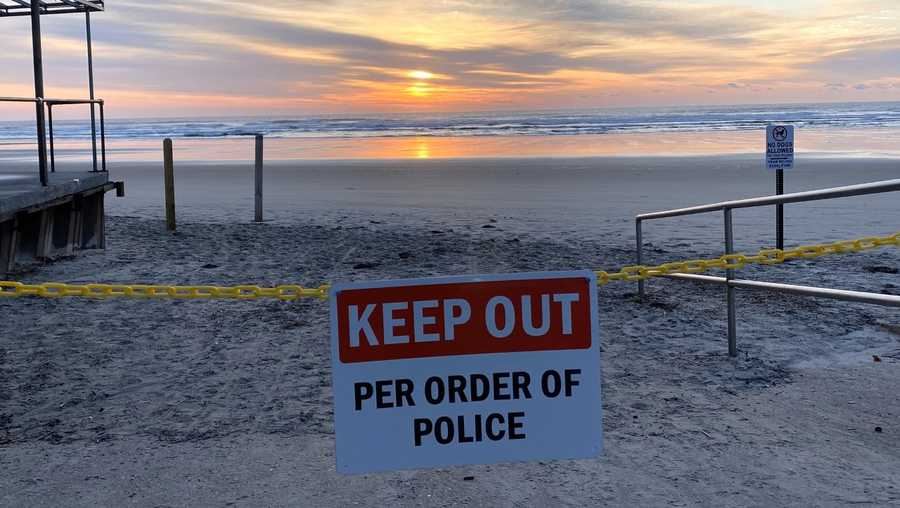 ogunquit beach closed