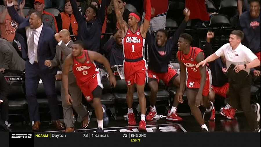Ole Miss celebrates comeback over Penn State