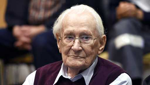 "Oskar Groening, a former Nazi death camp guard dubbed the ""Accountant of Auschwitz"""