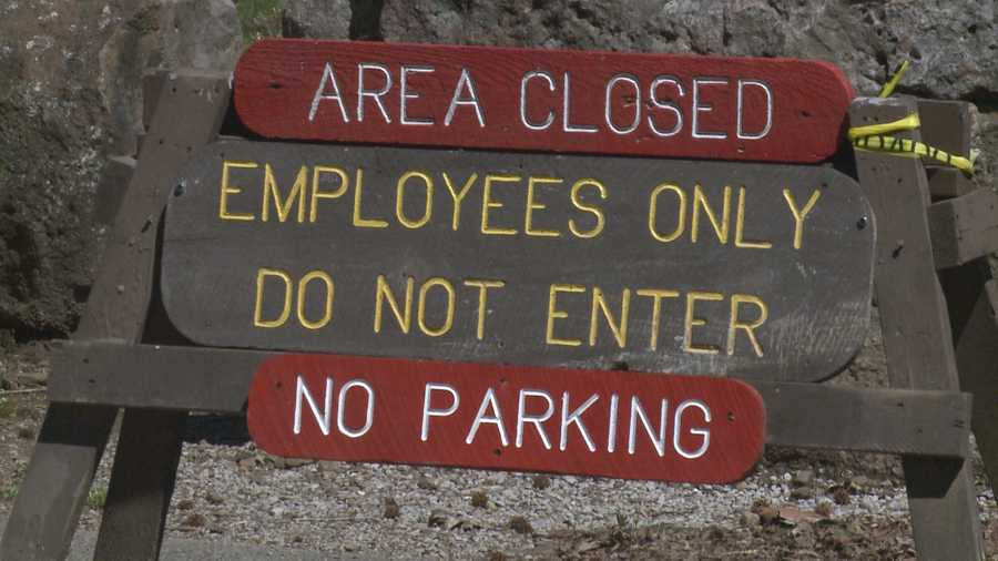 Campground closed at Devil's Den