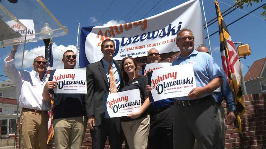 Former Del. John Olszewski Jr. formally entered the race to be the next Baltimore County executive.