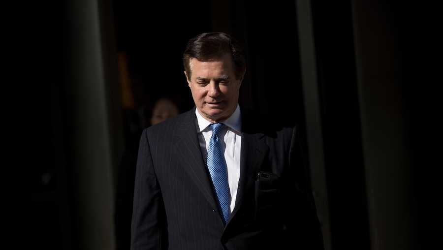 Former Donald Trump campaign chairman Paul Manafort