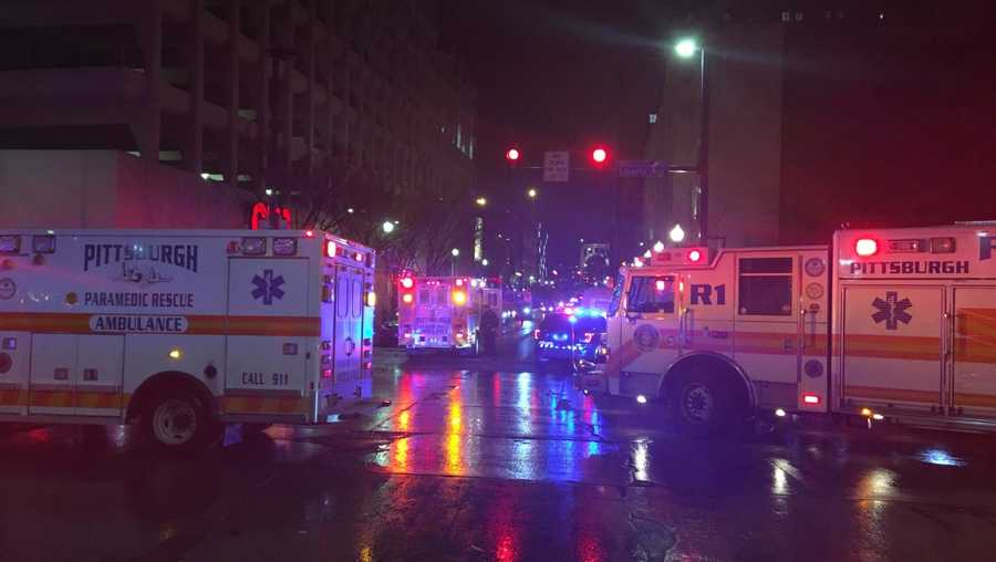 Fatal crash in downtown Pittsburgh