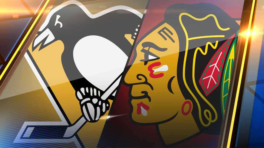 Penguins edge Blackhawks