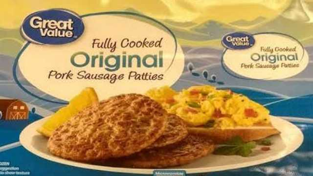 Pork sausage products recalled