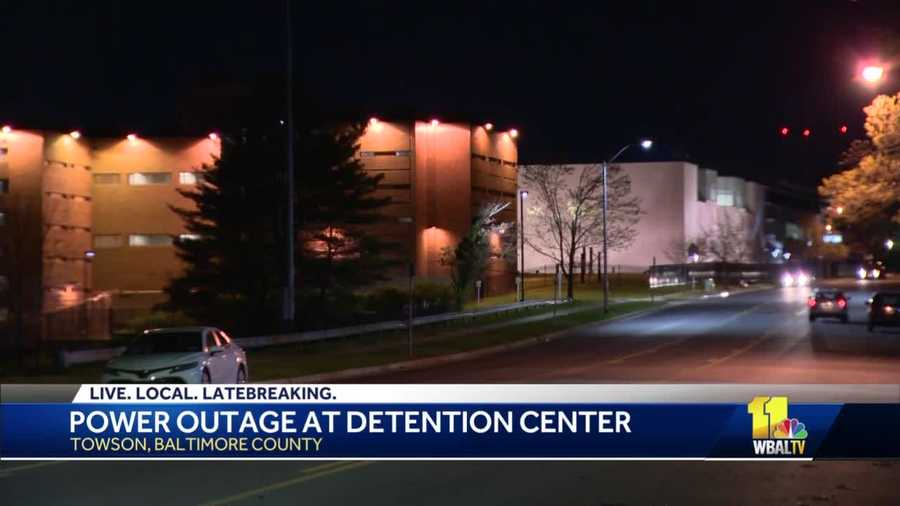 Baltimore County Detention Center loses power