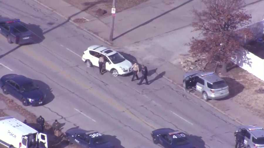 Platte County police chase ends in Kansas City, Missouri