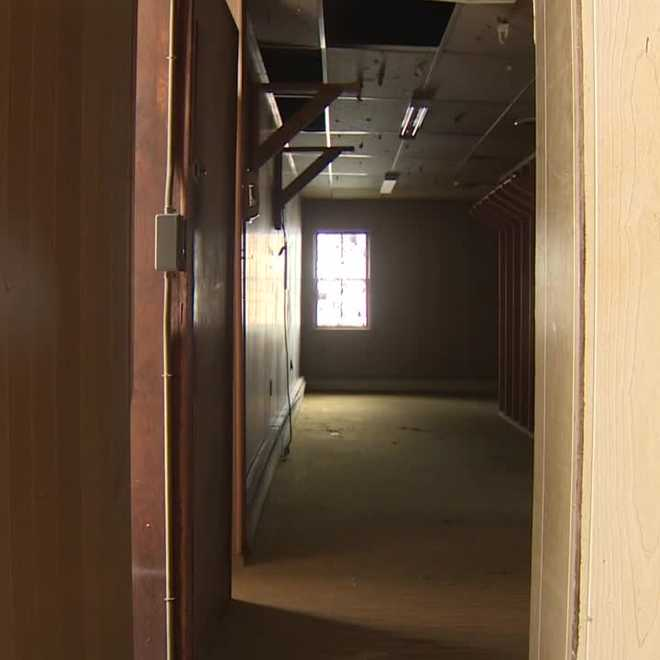 A look inside the building where the chefs are looking to renovate.
