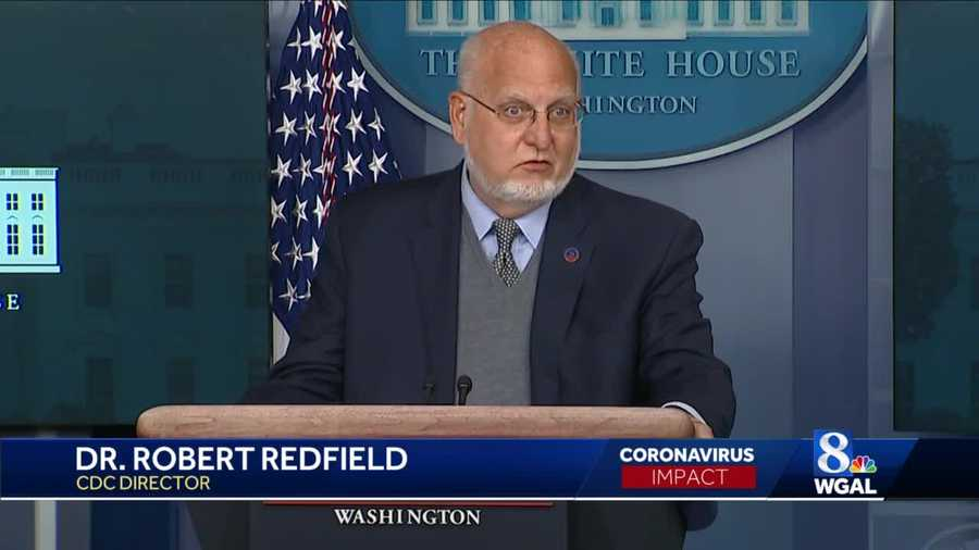 CDC Director Robert Redfield.
