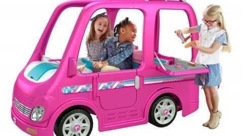 Power Wheels Barbie camper