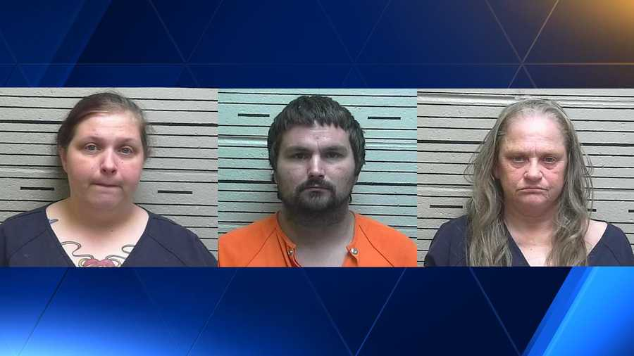 Danielle N. Martin, 32, Joshua D. Martin, 26, and Vickie S. Higginbotham, 58.