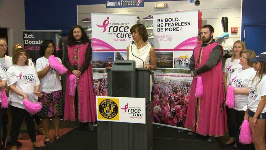 Race for the Cure Baltimore announcement