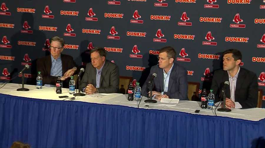 Red Sox leadership Alex Cora news conference