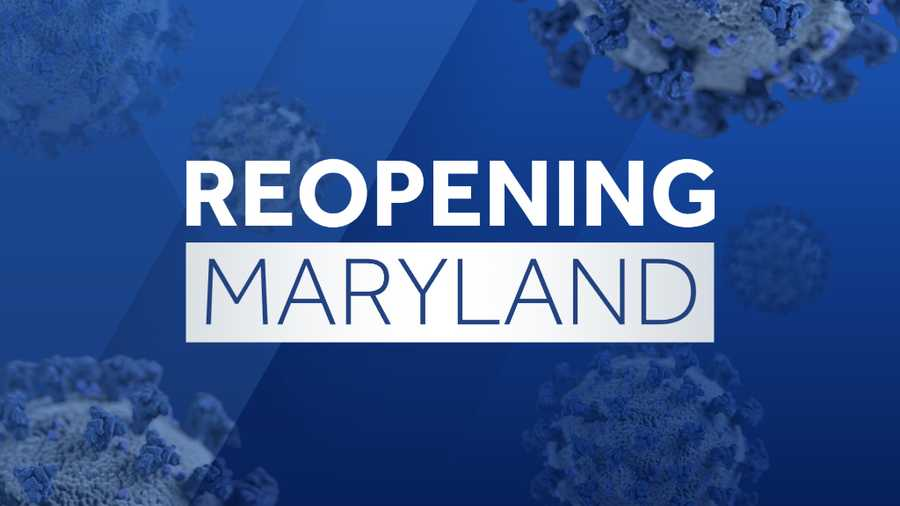 reopening maryland