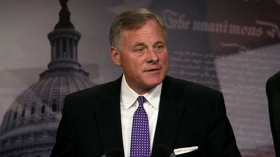 Senate Intelligence Chairman Richard Burr