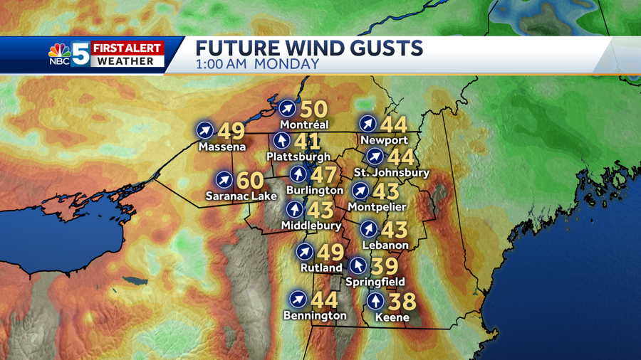 12k RPM WInd Gusts
