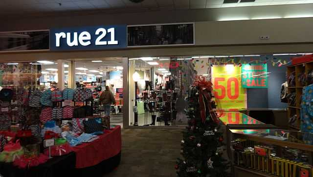 A Rue21 store in Tift County, Georgia.