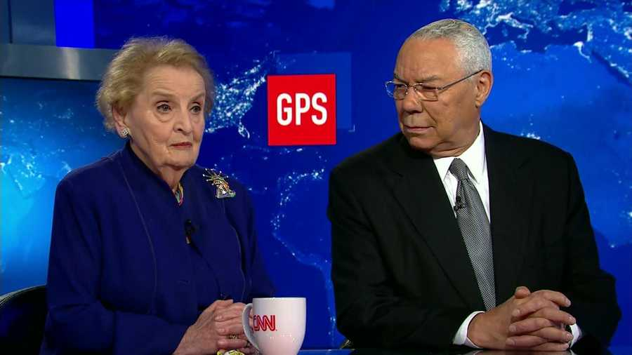 "Former Secretaries of State Madeline Albright and Colin Powell criticized President Donald Trump's handling of US relations with Russia in an interview that aired Sunday on CNN, with Albright slamming what she called Trump's ""kinship"" with Russian President Vladimir Putin and Powell calling for the US to ""speak firmly with respect to Russian actions"