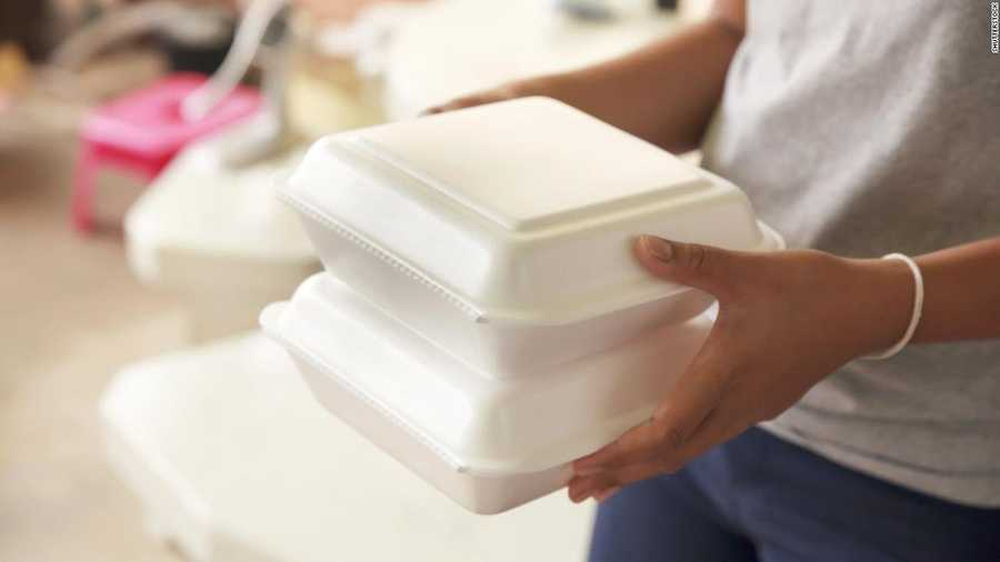 The purchase of Styrofoam products by the City of Fayetteville could be banned.
