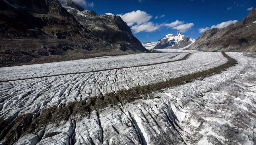 Glaciers in Switzerland have shrunk 10% in the past five years, a rate that has never been seen before in over a century of observations, according to new research published Tuesday.