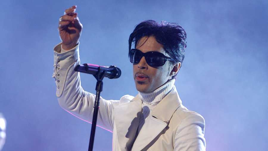Prince performs in Pasadena, California in 2007. The Prince estate decided to bless fans with unreleased music in honor of the 40th anniversary of the singer's self-titled second album.