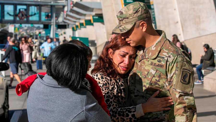 US Army officer, 2nd Lt. Gibram Cruz got a call he was dreading. His mom had been deported to Mexico.