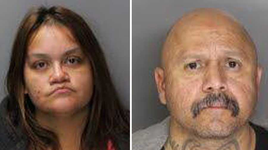 Tara Westford, 38, and Ronnie Bartholomew, 48, were arrested on Sunday, Jan. 1, 2016, in connection to stealing a bait package, the Sacramento Police Department said.