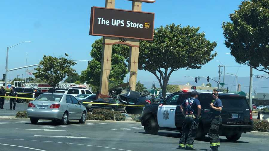 Salinas Car crash