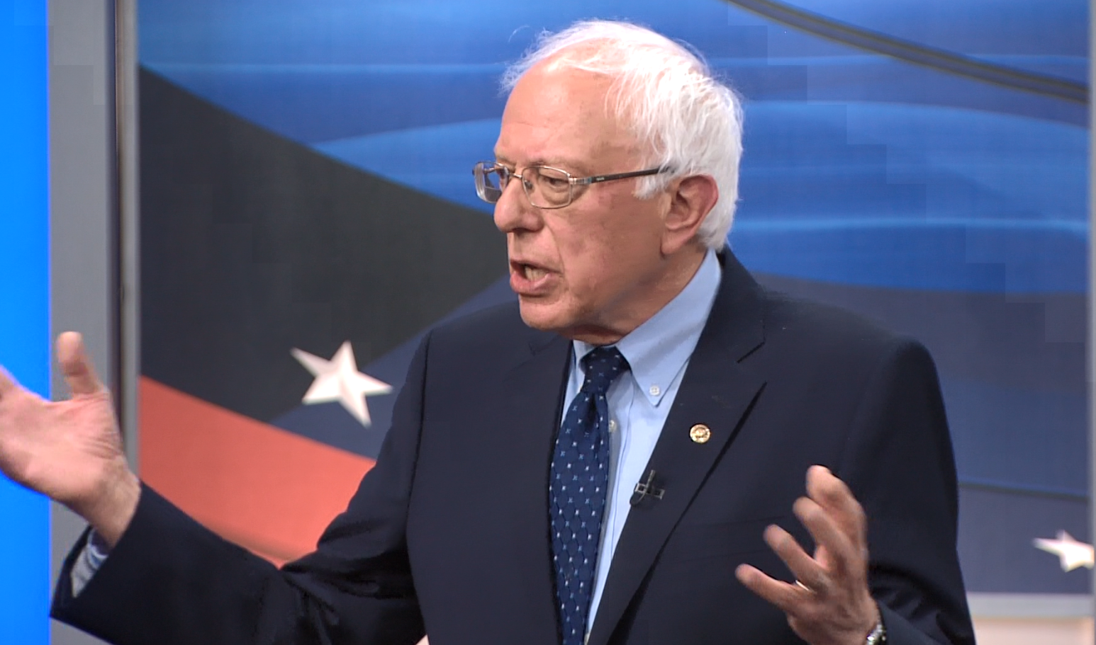 Bernie Sanders says his progressive policy ideas are based on life experiences