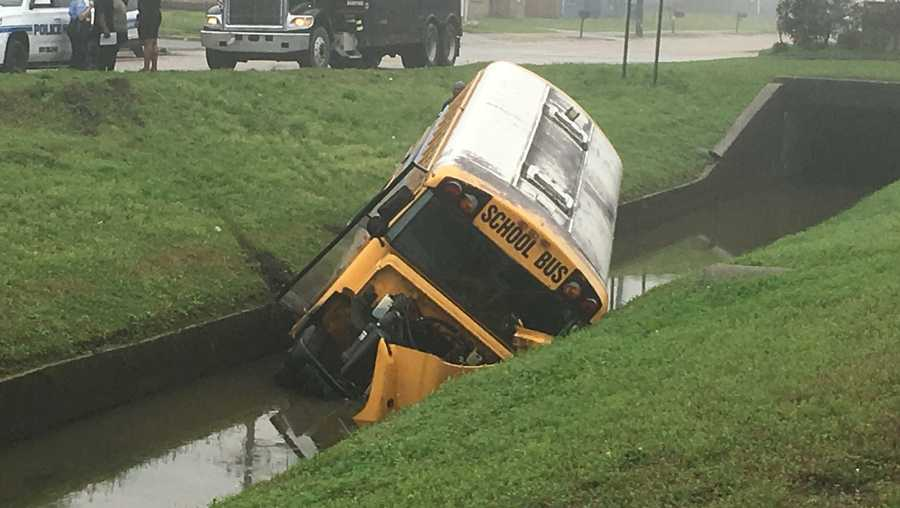 New Orleans East school bus crash