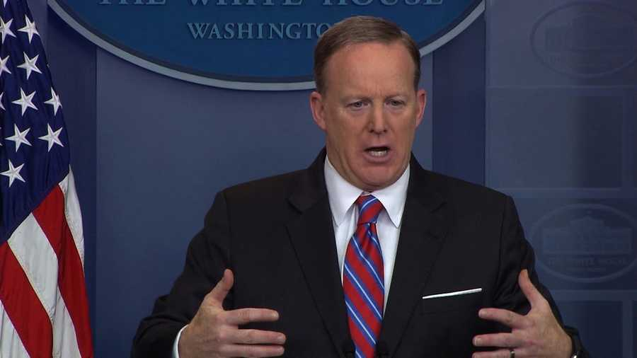 Press secretary Sean Spicer