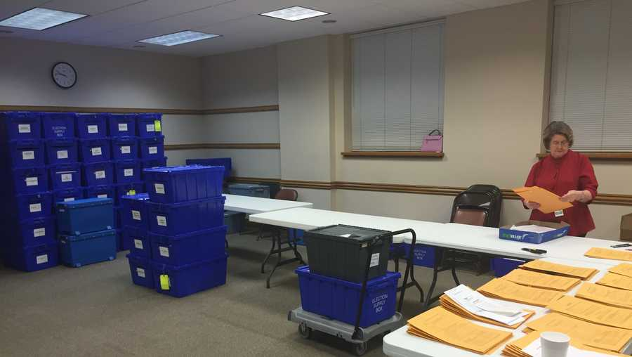 Counting votes in Sebastian County