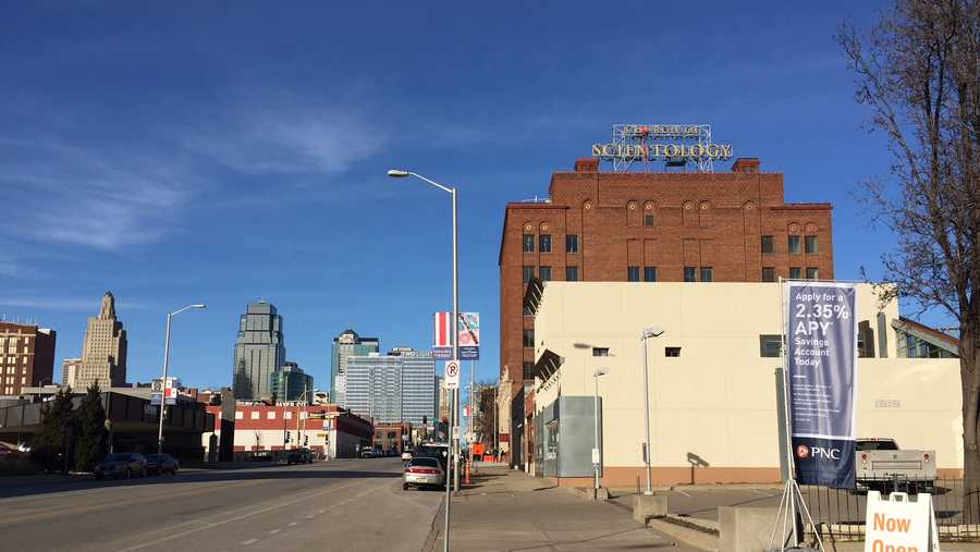 Church Of Scientology Sign Now Part Of Downtown Skyline