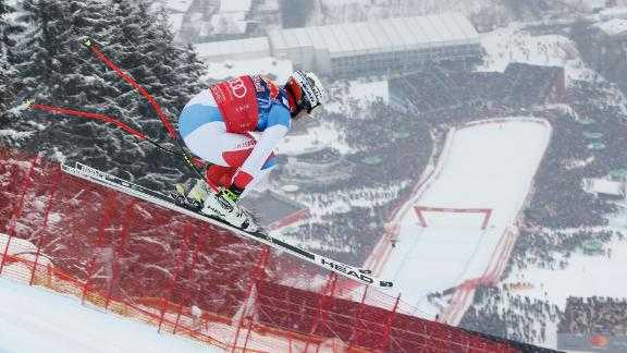 Hear how Kitzbuhel's infamous Hahnenkamm downhill has become skiing's scariest race.