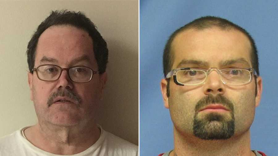 William Rangnow (left) and Robert Wood (right) are set to be released