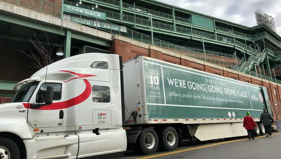 Red Sox Truck Day 2018
