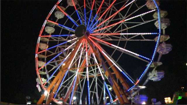 Mississippi State Fair ferris wheel