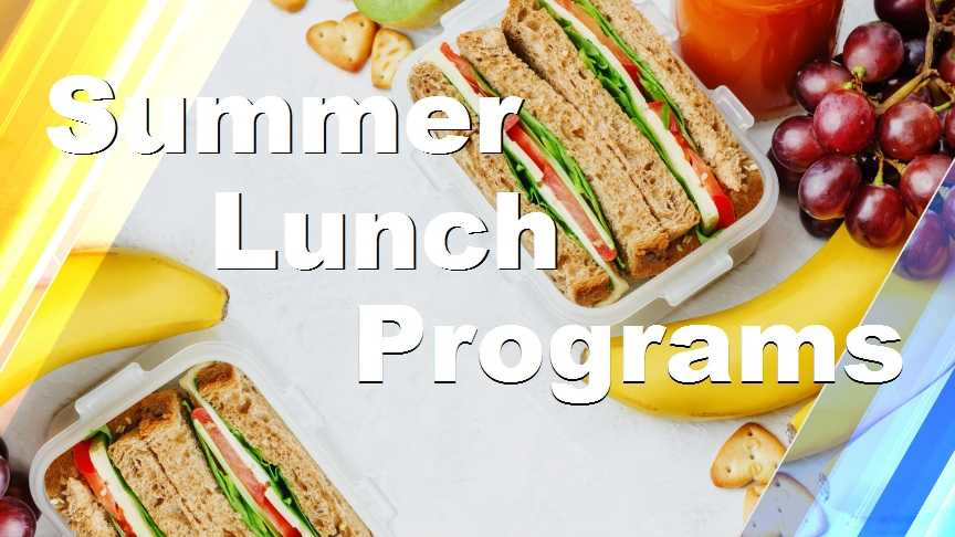 USDA is helping feed kids over summer vacation