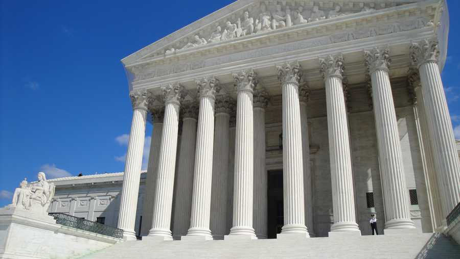 The Supreme Court is shown in this file photo.