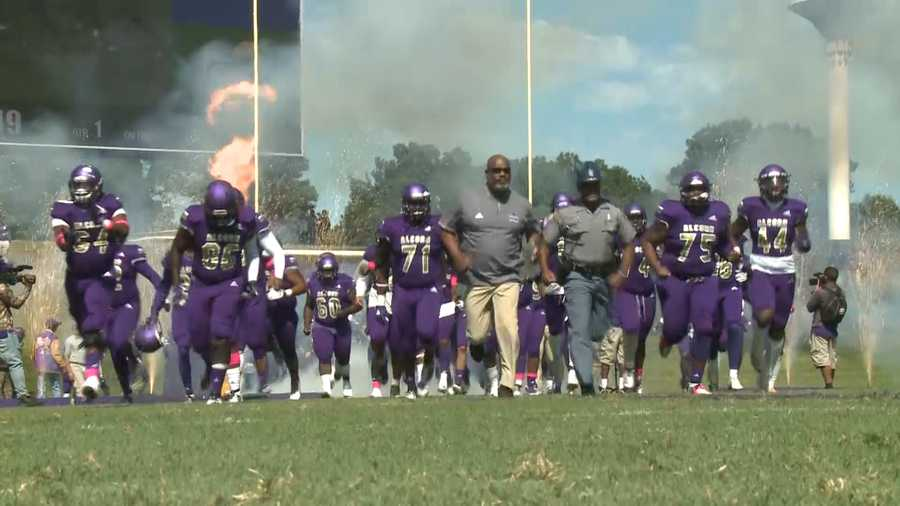 Alcorn State takes the field