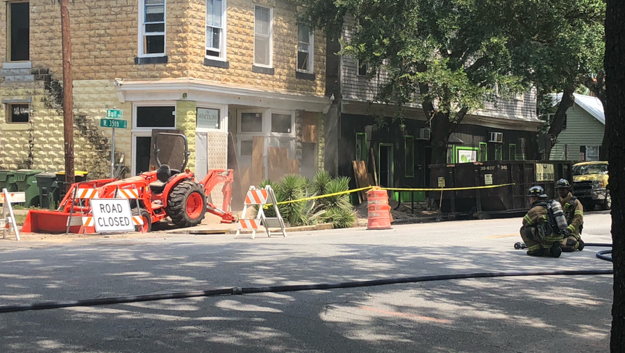 Gas leak in Savannah