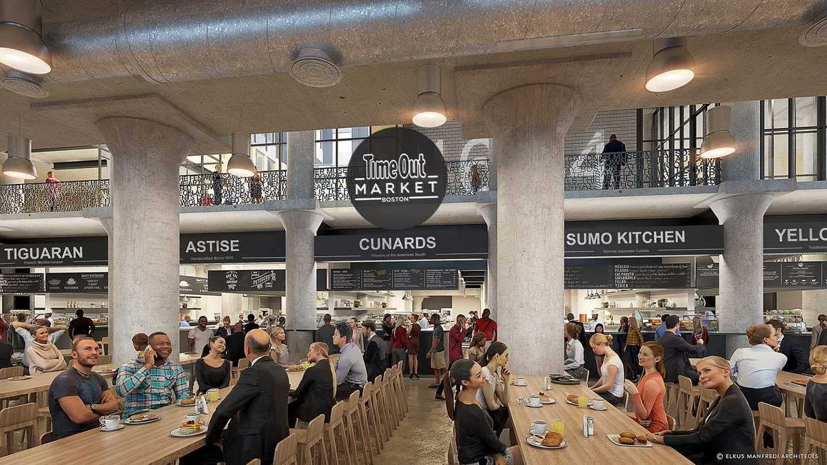 Opening date announced for new food market in Fenway neighborhood