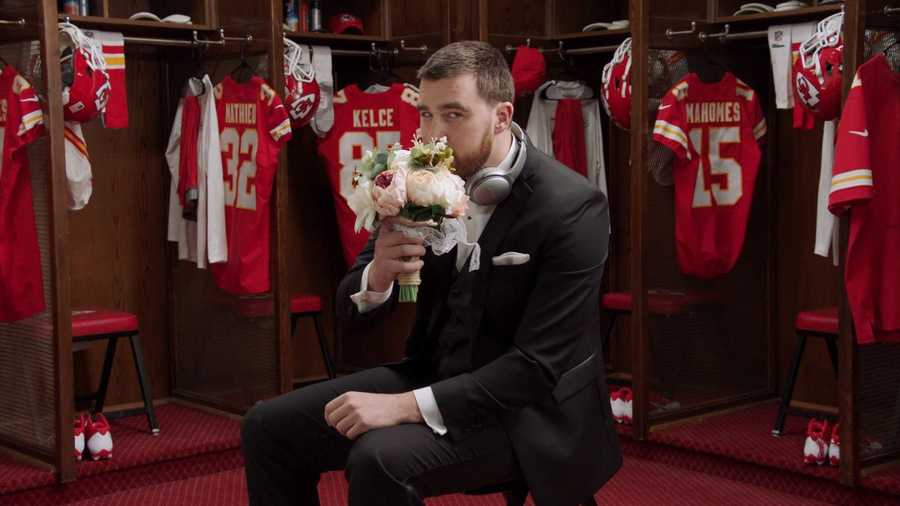 "Make Travis Kelce part of you ""I Do"" crew."