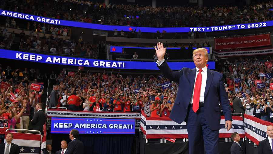 President Donald Trump said that he will accept the Republican nomination in North Carolina as initially planned, marking a reversal after he attempted to move portions of the party's convention out of the state.