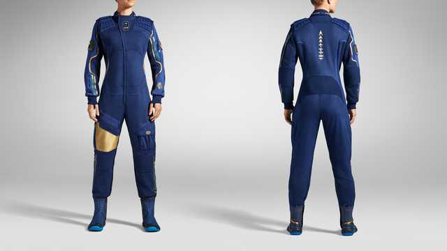 Under Armour unveils gear for Virgin Galactic flights