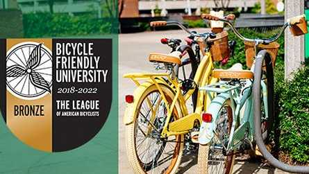 UAB awarded as bicycle-friendly campus