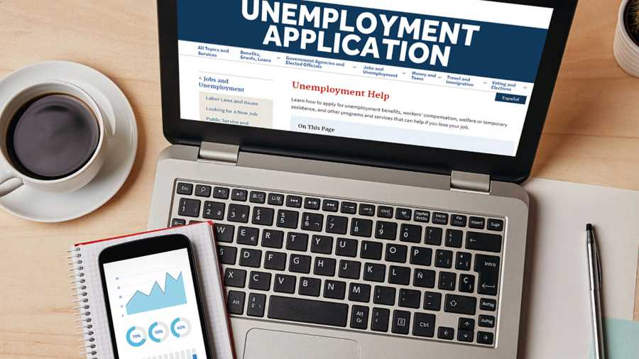unemployment website where people can apply