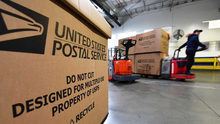 "The U.S. Postal Service is giving Congress a dire warning, telling lawmakers in a video briefing this week that the agency will ""run out of cash"" by the end of September if Congress does not step in with financial assistance."