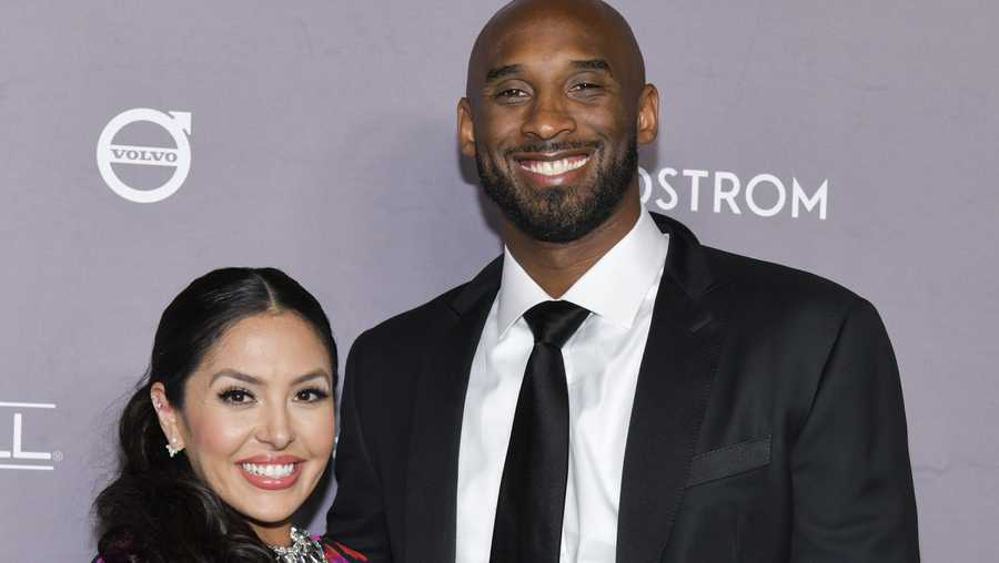 Vanessa Laine Bryant (L) and Kobe Bryant attend the 2019 Baby2Baby Gala Presented by Paul Mitchell at 3LABS on November 09, 2019 in Culver City, California.