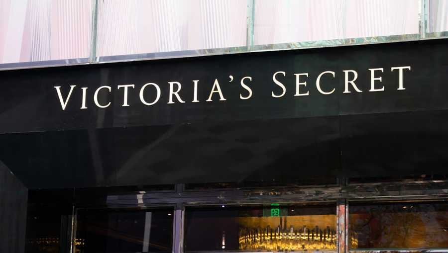 Victoria's Secret logo seen in Shanghai.